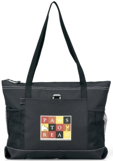 Select Promotional Tote Bag Black Color Image