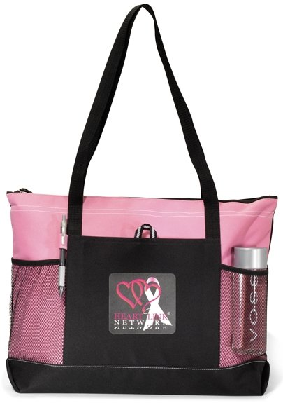 Select Printed Tote Bag Pink Color Image
