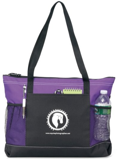 Select Promotional Tote Bag Purple Color Image