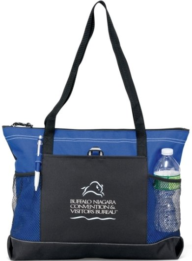Select Promotional Tote Bag Royal Blue Color Image