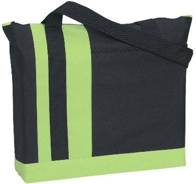 TriBand Promotional Tote Bag Lime Color Image