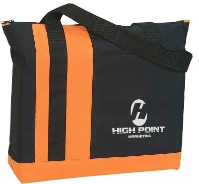 TriBand Promotional Tote Bag Orange Color Image