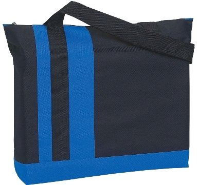TriBand Promotional Tote Bag Royal Blue Color Image