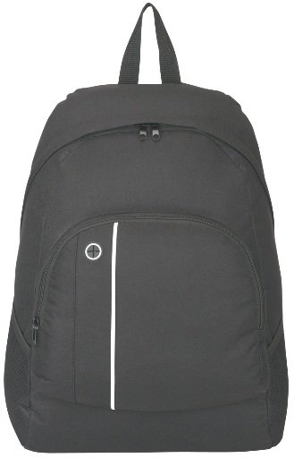 School Buddy Promotional Backpack Black Color Image