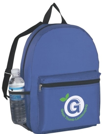 Budget Printed Backpack Royal Color Image