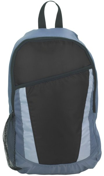 City Promotional Backpack Black Color Image