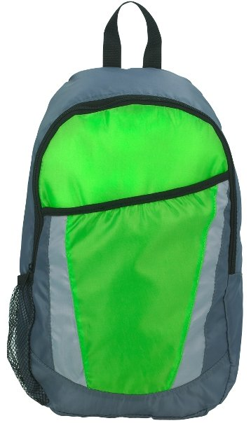 City Promotional Backpack Lime Color Image
