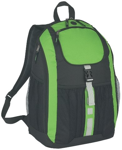 Deluxe Promotional Backpack Lime Color Image