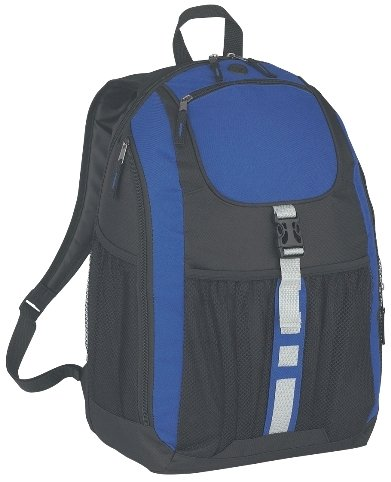 Deluxe Promotional Backpack Royal Color Image