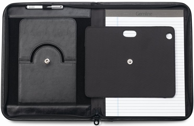 Noble Leather Tablet Padfolio Features Three Image