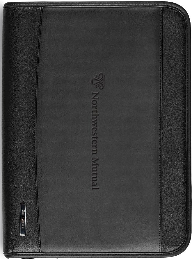Samsonite Leather Organizer
