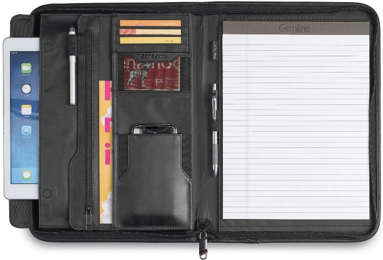 Samsonite Leather Organizer Padfolio Image