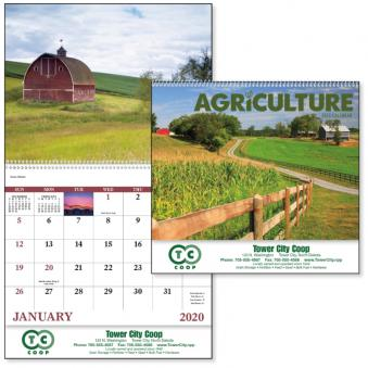Agriculture Advertising Calendar