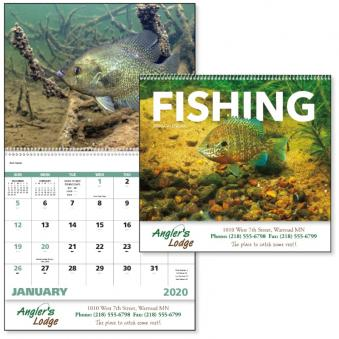 Fishing Advertising Calendar
