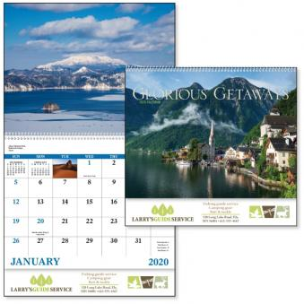 Glorious Getaways Advertising Calendar