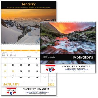 Motivations Advertising Calendar