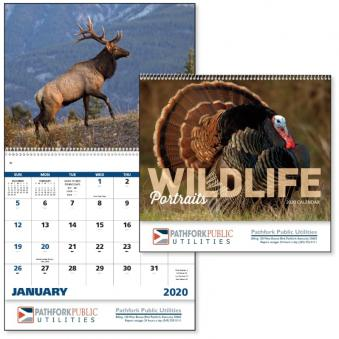 Wildlife Portraits Advertising Calendar