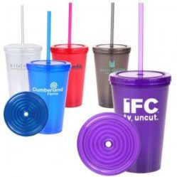 Tumbler Cups - Lid - Straw