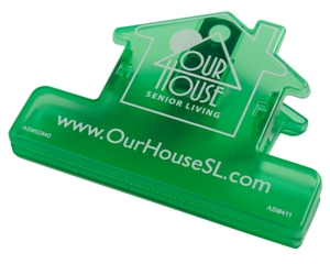 House Bag Clips Translucent Green Custom Features Image
