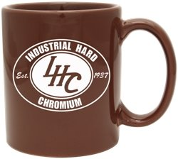 Hampton Brown Cup Imprinted Image