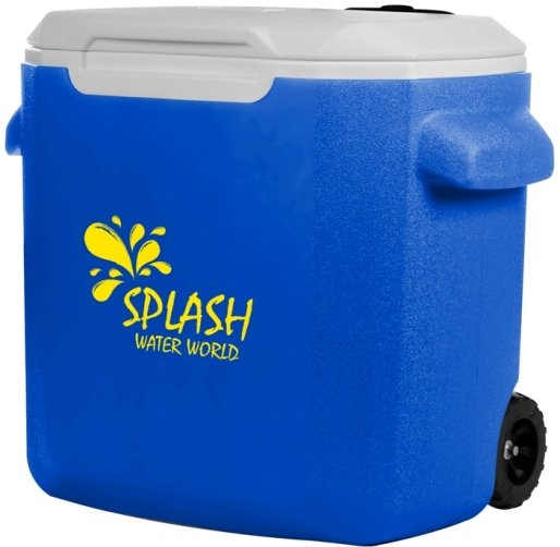 Royal 16 Quart Coleman Wheeled Cooler Image