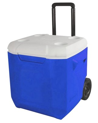 Royal 45 Quart Coleman Wheeled Cooler Image