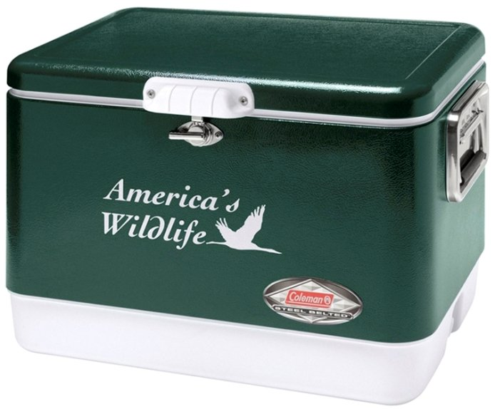 Coleman-54 Qt. Classic Steel Belted Coolers