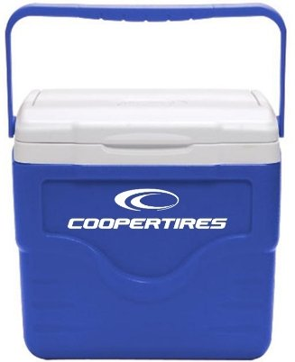 Royal 9 Quart Coleman Lunch Cooler Image