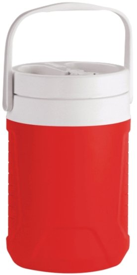 Red One Gallon Coleman Water Jug Image