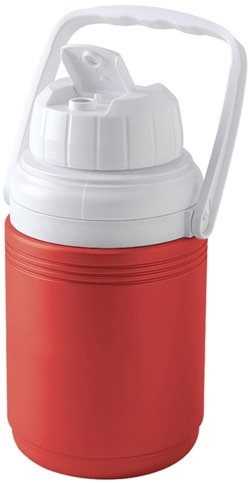 Red Third Gallon Coleman Water Jug Image
