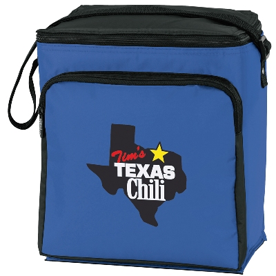 Cooler Bags Koozie Scout 12 Pack Royal Blue Colors Image