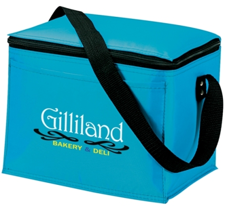 Cooler Bags Koozie Original 6 Pack Ice Blue Colors Image