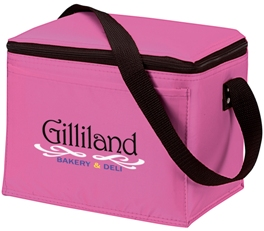 Cooler Bags Koozie Original 6 Pack Pink Colors Image