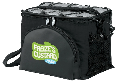 Cooler Bags Koozie Super Deluxe 6 Pack Black Colors Image