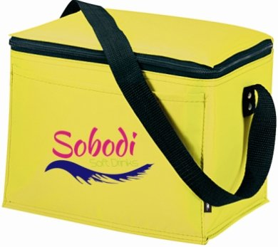 Yellow Koozie Original 6 Pack Cooler