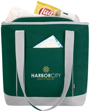 Koozie 18 Can Elegant Tote Bag Promotional Coolers