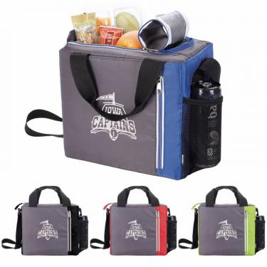 Koozie Double Zip 9 Can Cooler Bags