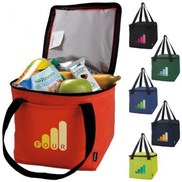 Koozie Square 6 Pack Cooler Bags