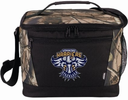 Camo Lunch Bag Cooler Closed