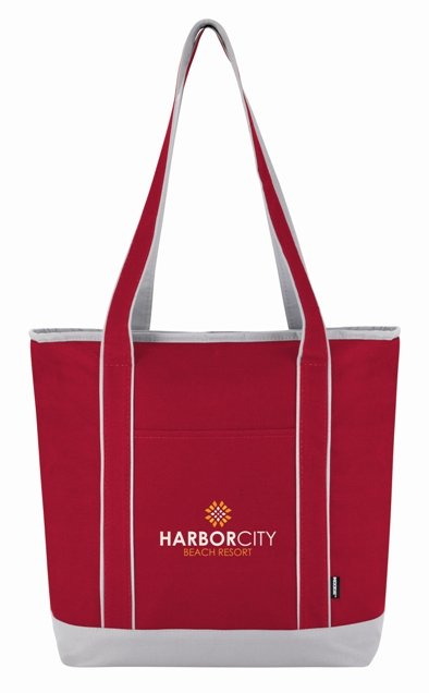 Red Koozie Tote Lunch Bag