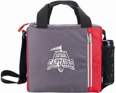 Red Koozie Tall Zip Lunch Bag