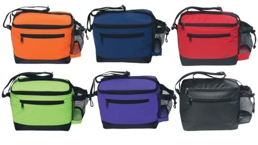 6 Pack Premium Soft Sided Cooler Colors Image