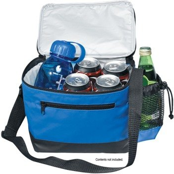 6 Pack Premium Soft Sided Cooler Open Features Image