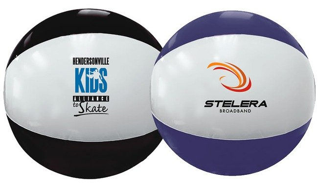 Custom Printed Beach Ball Image