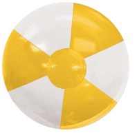 Promotional Beach Ball Yellow