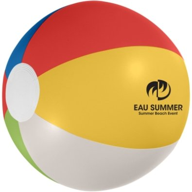 Multi Color Custom Printed Beach Ball