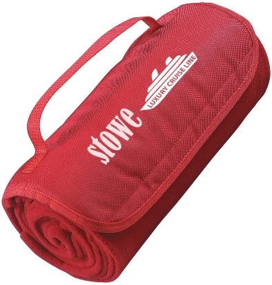Red Promotional Blanket