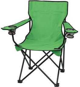 Lime Promotional Captains Folding Chair