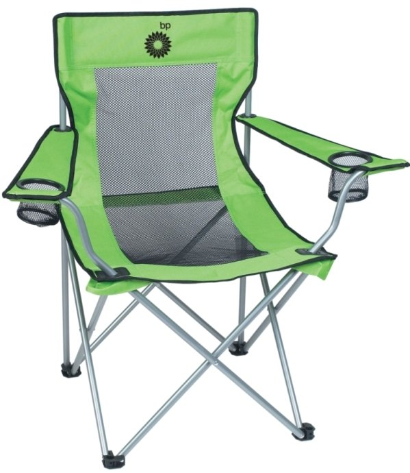 Lime Promotional Mesh Folding Chair