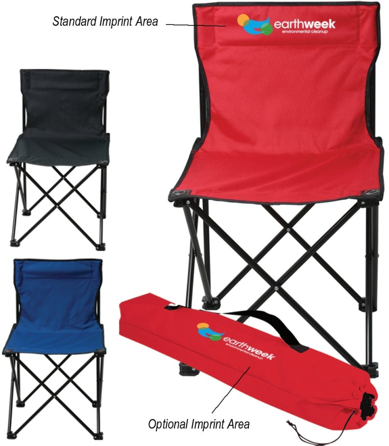Logo Chairs - Promotional Folding Chair